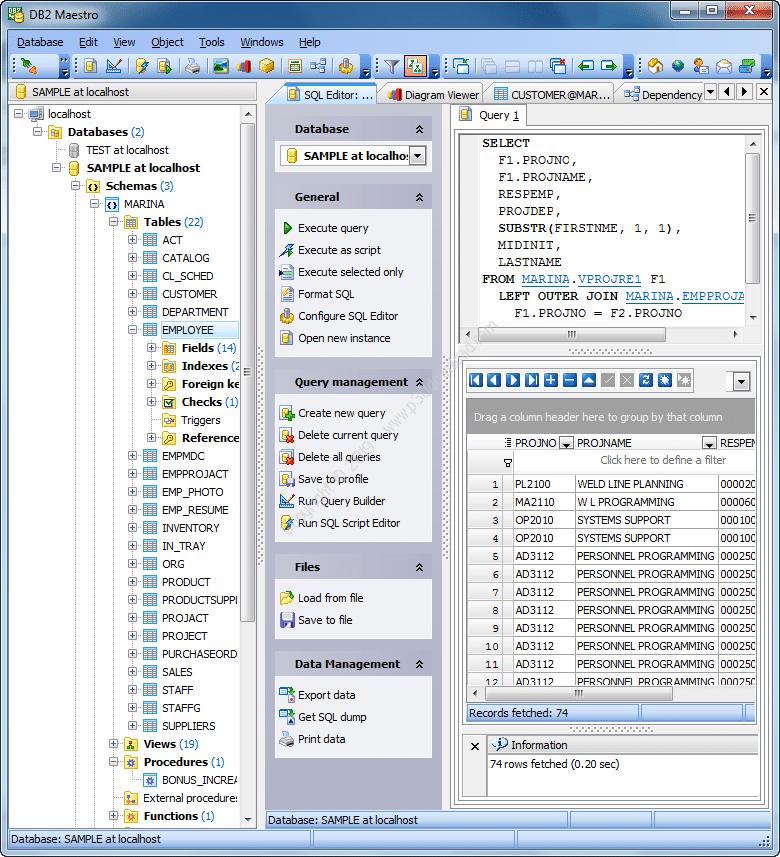 معرفی نرم افزار DB2